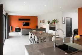 ... Am Nagement Cuisine Salle Manger Salon Un Espace Vitamin Design D Id Es  Douillettes Amenagement A ...