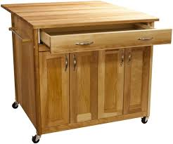 Rolling Kitchen Island 40 Catskill Craftsmen Rolling Kitchen Island Cart Deep 51539