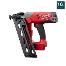 m18 fuel 18 volt lithium ion brushless cordless 16 gauge angled finish nailer