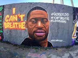 George Floyd murals pop up around the ...