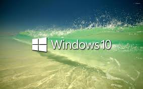 Windows 10 On A Clear Wave Wallpaper ...