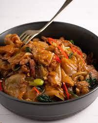 pork belly drunken noodles marion s