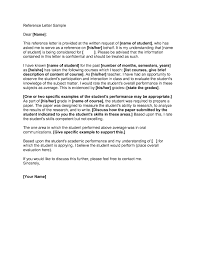 Letter Reference Examples Best Professional Letter Reference Sample