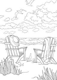 Bliss Seashore Coloring Book Your Passport To Calm By Jessica