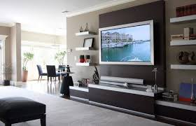 wall mounted tv ideas plan for interior home decorating 46 with idea 18