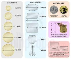 Lapel Pin Designing Factors Size Matters The Pin People