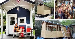 tiny house news. Man Builds Himself A Tiny House So He Can Live Rent-free News