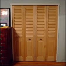 louvered bifold doors. Wood Louvered Bifold Closet Doors ,