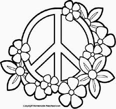 Small Picture Peace Sign Coloring Pages Photographic Gallery Peace Sign Coloring