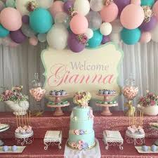 Baby Shower Party Table Decorations