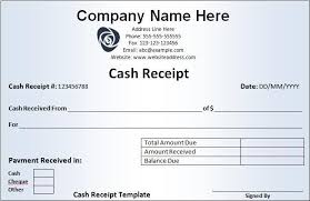 Cash Received Receipt Beauteous Cash Payment Receipt Template Free Photography Pinterest