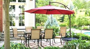 awesome rectangular patio umbrellas home depot about remodel modern interior design with at umbrella stands rec rectangle patio umbrella with led lights