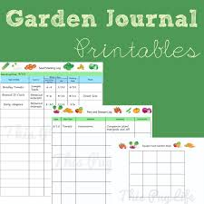 Small Picture Garden Journal Printables Updated Gardens Garden planner and