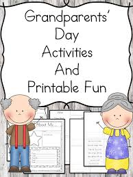 Grandparents Day Activities | Grandparents, Kindergarten and ...