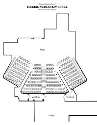 Regent University Theater Seating Chart Play Circle Seating Wisconsin Union