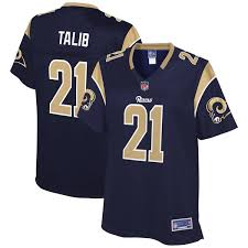Pro Jersey Rams Player Line Los Angeles Talib Nfl Navy Women's Aqib acadebeecae|He Is Also Our Official Tweeter