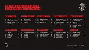 Mereka terpaut 10 angka dari pemuncak klasemen liga inggris jadwal pertandingan. Jadwal Lengkap Mu Di Liga Inggris 2019 2020 Bola Liputan6 Com