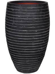 <b>Кашпо Capi</b> nature row nl <b>vase elegant</b> deluxe anthracite D40 H60 см