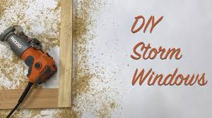 diy storm windows