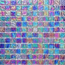 1 sq m pearl iridescent dark purple glass mosaic wall tiles bathroom walls 0042