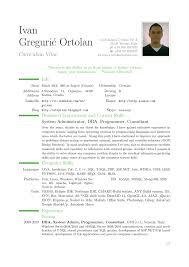 Modern Resume Format Proyectoportal Com