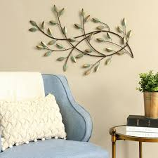 stratton home decor patina blowing leaves metal wall decor on stratton home decor blowing leaves metal wall art with stratton home decor patina blowing leaves metal wall decor wall