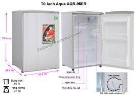 Tủ lạnh mini AQUA 90 Lít AQR-95ER - Chính hãng giá rẻ nhất T10/2020