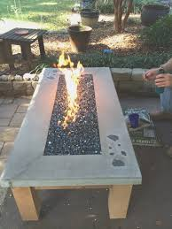 propane fire pit burner hole size improbable how to build a gas with glass pan home