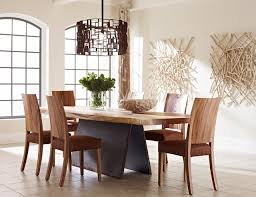 phillip collection furniture. Phillips Collection Furniture Modern Dining Room Design Cozy Six Chairs Long Table Hardwood Varnished Hanging Lamp Phillip P