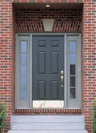 Pictures Of Front Doors On Houses: Front Doors Design Ideas With A Grey Door  Combine