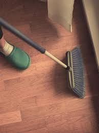 apart from using the right methods for cleaning there is an important measure which you can undertake to maintain the gloss of the floor intact