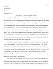 catcher in the rye essay jen garcia mrs broderick hal a  4 pages edith wharton research paper