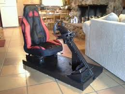 home made racing simulator for under 100 good weekend project