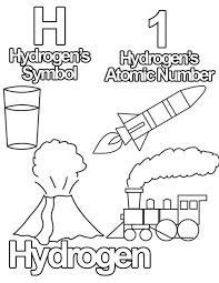 Small Picture Free Coloring Pages from The Periodic Table of Elementary