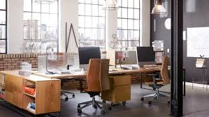 industrial style office chair.