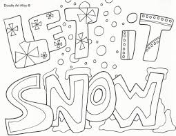 Small Picture Snow Coloring Pages jacbme