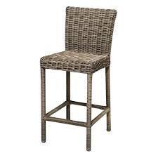 7 Pcs Rattan Wicker Bar Table Stools Furniture Set  Outdoor Outdoor Wicker Bar Furniture