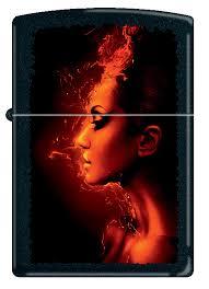 <b>Бензиновая зажигалка</b> Zippo Burning Woman, 10 мл — купить в ...