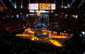 Final Four Vitoria-Gasteiz 2019 - Light Show at Fernando Buesa Arena -  2018-19 SEASON - Welcome to 7DAYS EuroCup