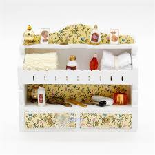 make up cabi set miniatures dollhouse 1 12 toys accessory doll house dressing table for s