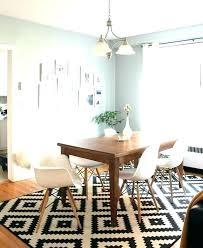 rug under dining room table on carpet carpet under dining table size best rug for under rug under dining room table