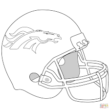 Free Coloring Pages Football Helmets At Getdrawingscom Free For