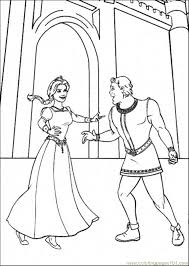 Small Picture Shrek And Fiona Coloring Page Free Shrek Coloring Pages