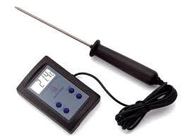 Thermomètre De Cuisson Sonde électronique 50c à 200c Matfer