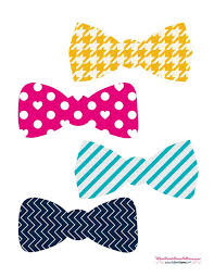 Best Photos Of Photo Booth Props Free Printable Bow Tie