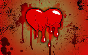 wallpaper broken heart love blood photo wallpapers for desktop