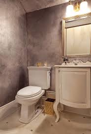 portland silver fox paint with gold shade bathroom traditional and auto powder room