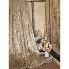 stunning heavy champagne crushed velvet 111 d 52 w blackout lined eyelet curtains