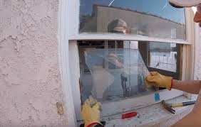 replacement double pane glass if your window is damaged like this one