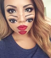 double vision face makeup jpg